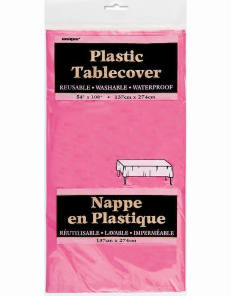 Rectangular Hot Pink Tablecover