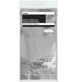Rectangular Silver Foil Tablecover