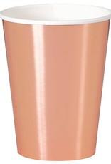 Rose Gold Foil Cups