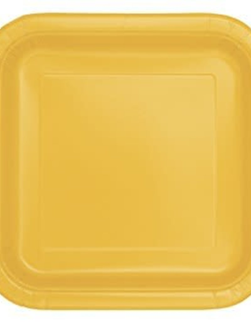 8.75 Sunflower Yellow Paper Plates