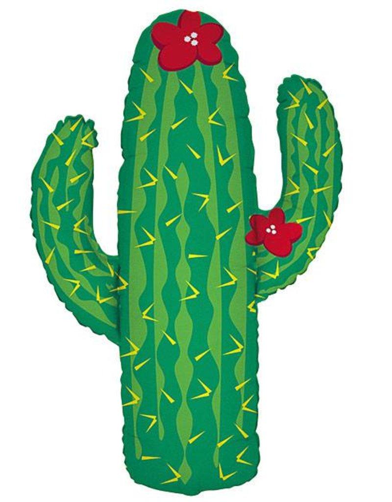 "41"" Cactus Shape Foil Balloon"