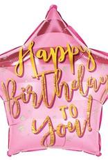 "18"" Happy Birthday To You Foil Balloon"