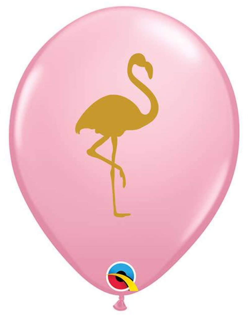 "11"" Flamingo Helium Balloon"