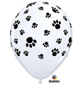 Paw Print Helium Balloon