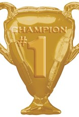 Jumbo Champion Trophy Foil Balloon