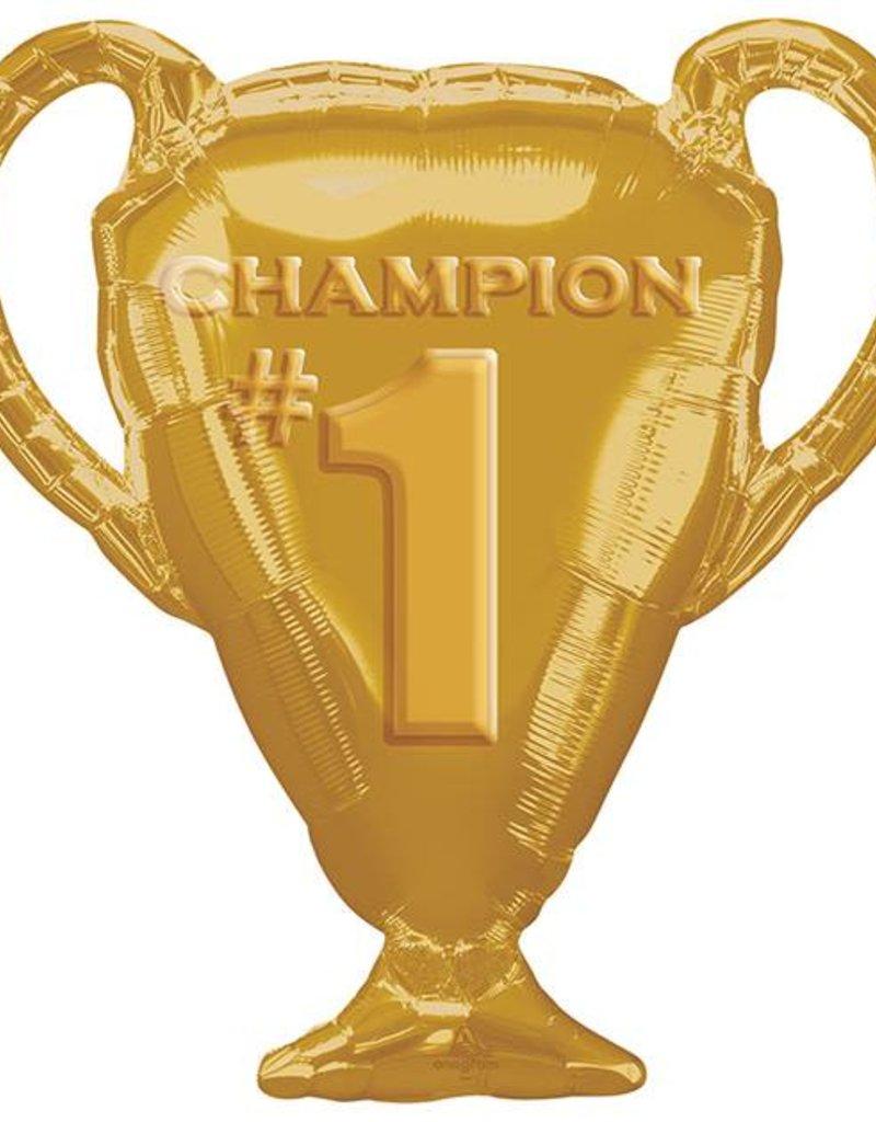 Jumbo Champion Trophy Foil Balloon