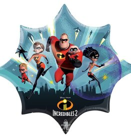 "35"" Medium Size Incredibles 2 Foil Balloon"