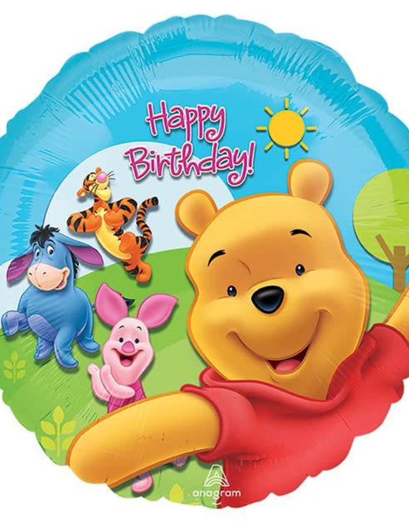 "18"" Pooh and Friends Pooh Balloon"