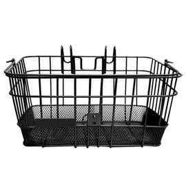 Evo E-Cargo Lift Off DLX front basket - Black