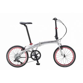 Dahon Mu D8 - Brushed Silver
