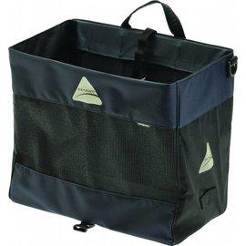 Axiom Hunter DLX Shopping Pannier: Gray/Black