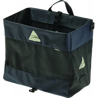 Axiom Hunter DLX Shopping Pannier: Gray/Black