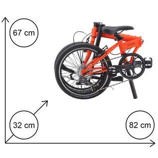 Dahon Dahon Speed D8 Sport - Tangerine