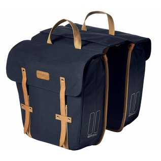 Basil Basil Portland Double Bag - Dark Blue