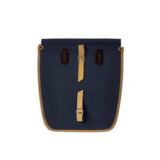 Basil Portland Double Bag - Dark Blue