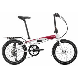 Tern Link D8 -  White/Red/Grey