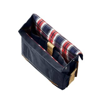 Basil Portland Messenger Bag - Dark Blue