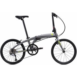 Tern Verge D9 - Gunmetal/Green