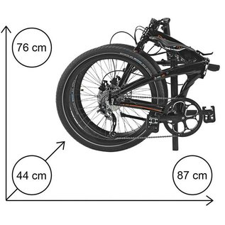 Dahon IOS D9 - Black/Orange