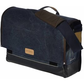 Basil Basil Urban Fold Messenger Bag - Deep Denim Blue