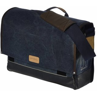 Basil Urban Fold Messenger Bag - Deep Denim Blue