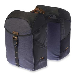 Basil Miles Double Bag - Black Slate