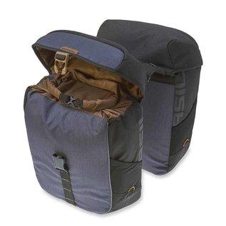 Basil Basil Miles Double Bag - Black Slate