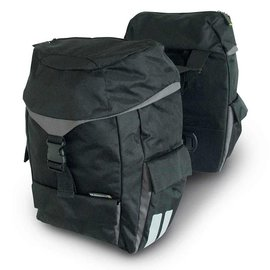 Basil Sports Double Bag - Black