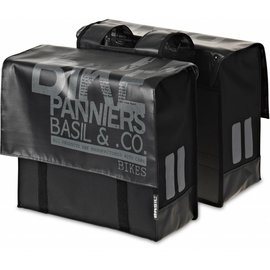Basil Transport Double Bag - Black