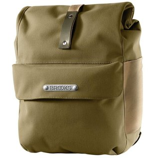 Brooks Brooks Norfolk Front Travel Pannier W Roll Top - Green/Olive