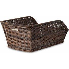 Basil Cento Rattan Look Rear Basket - Nature Brown