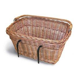 Basil Davos Basket - Varnished Natural