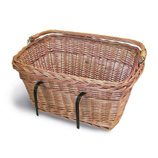 Basil Davos Basket - Varnished Natural