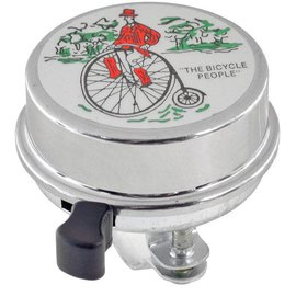 49N RETRO BICYCLE PEOPLE BELL