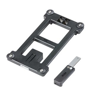 Basil MIK Adapter Plate, Black