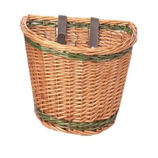Evo E-Cargo Classic Wicker front basket- Light