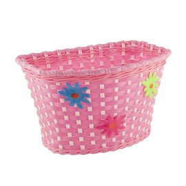 Evo Kids Front Basket - Pink/White