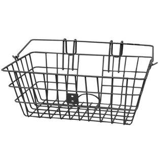 Evo E-Cargo Lift Off Classic Front Basket- Black