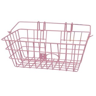 Evo E-Cargo Lift Off Classic Front Basket- Pink