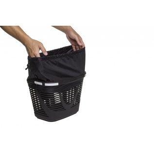 Tern Tern Hold'Em Front Basket - Black/Blue Polka