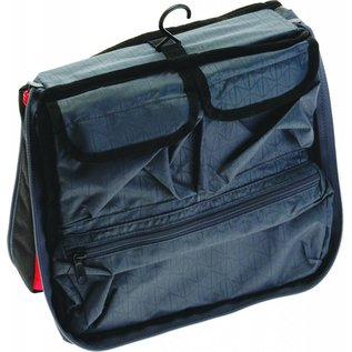 Axiom Grandtour Toiletry Kit - Red/Black