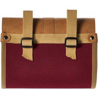 Basil Basil Portland Saddle / Handlenar Bag - Dark Red