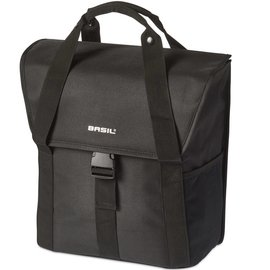Basil Go Single Bag - Solid Black