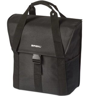 Basil Basil Go Single Bag - Solid Black