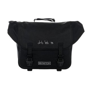 Brompton O-Bag - Reflective Black