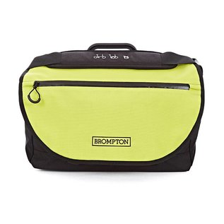 Brompton S Bag - Lime Green Flap