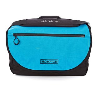 Brompton S Bag - Lagoon Blue Flap