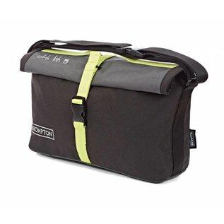 Brompton Roll Top Bag - Lime Green Trim