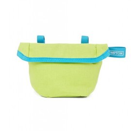 Brompton Saddle Pouch - Lime Green/ Lagoon Blue