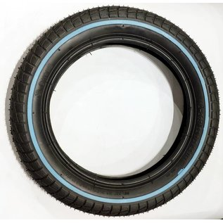 Kenda Exce 203 - 12 1/2 x 2.1 - Black/ Blue Stripe